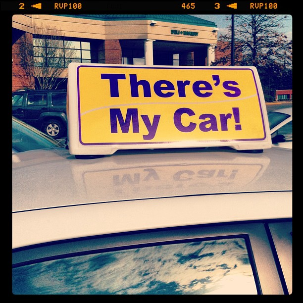 Agh, There's My Car!