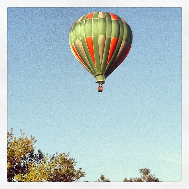 Up Up And Away...