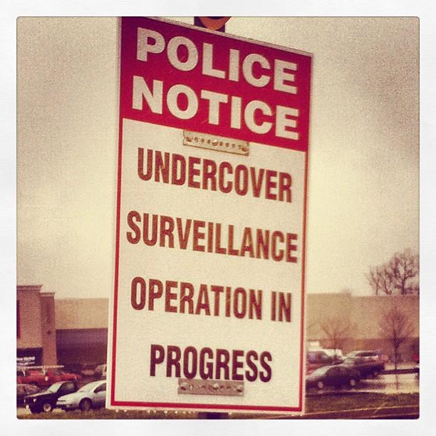 Police Notice